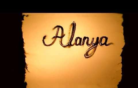 Alanya - kum sanatı