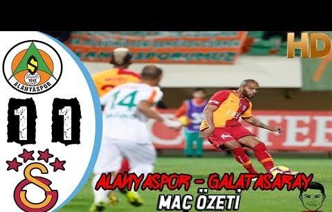 Alanyaspor 1-1 Galatasaray - Maç Özeti