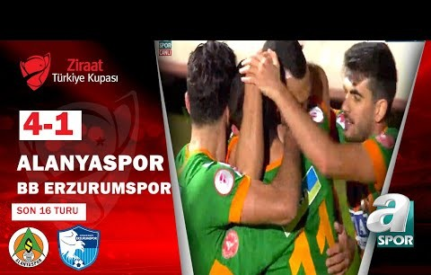 Alanyaspor 4 - 1 BB Erzurumspor MAÇ ÖZETİ