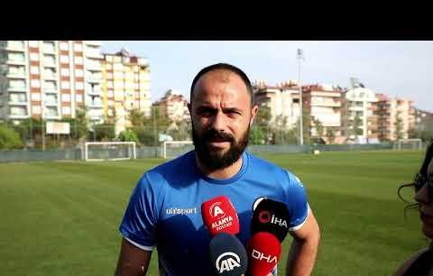 """Alanyasporlu Haydar Yılmaz: """"Bizim açımızdan iyi bir sezon geçti"""""""