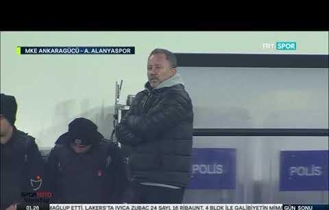 Ankaragücü Alanyaspor maç özeti