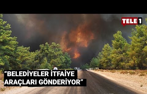 Antalya Büyükşehir Belediye Başkanı Böcek: Yangın artarak devam ediyor