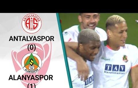 Antalyaspor 0 - 1 Alanyaspor MAÇ ÖZETi (Ziraat Türkiye Kupası Yarı Final İlk Maçı)