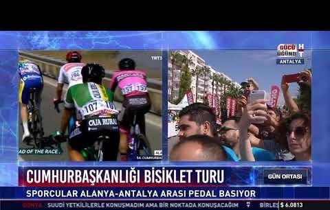 Cumhurbaşkanlığı Bisiklet Turu - Alanya - Antalya etabı