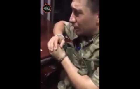 Darbeci Başlarından Subay Gözaltındaki konuşması