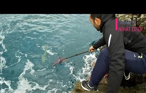 Dev LAMBUKA Avı - Spin İle Balık Avı - Alanya