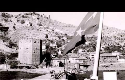 Eski Alanya 100 yıl önce