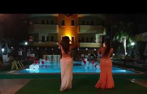 Gold Twins Suit Beach Hotel Alanya Oriental Night by Yılgör