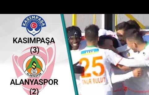 Kasımpaşa 3 - 2 Alanyaspor (Ziraat Türkiye Kupası Son 16 Turu Rövanş Maçı)