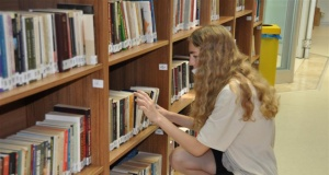 Bu kütüphanede hayat var
