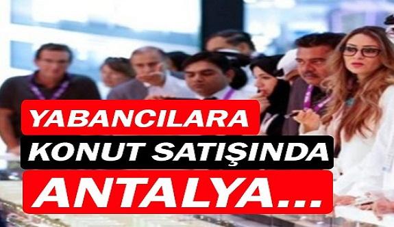 Antalya'da 2019 Ocak ayında 3 581 konut satıldı