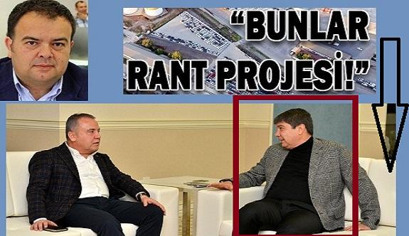 Alanya'lı meclis üyesi: Türel'in projeleri ranta, Böcek'in projeleri halka hitap ediyor
