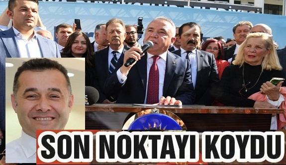 """Böcek """"Alanya'da kim seçildi, Adem Murat Yücel, o zaman saygı duyup, Adem kardeşimle çalışacağız"""""""