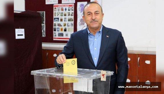 Çavuşoğlu'nun sandığından AK Parti çıktı...!