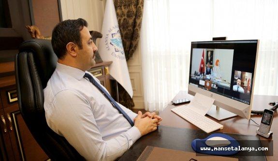Alanya'da yapılacak olan ÖSYM sınavı öncesi online toplantı!