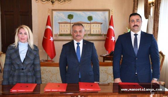 Alanya ile Antalya arasında protokol imzalandı!
