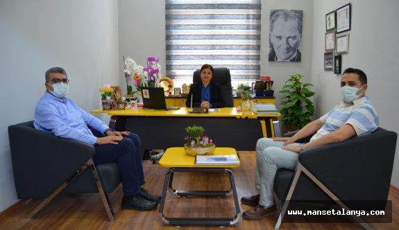 Federasyon başkanı Coşkun'a hayırlı olsun ziyareti