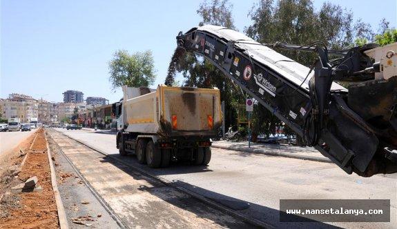 Yeni prestij caddesi için sıcak asfalt için hazırlıklar başladı!