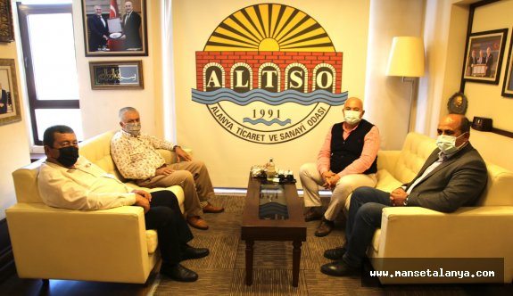 Alanya, Konaklı ve Payallar hal'inden ALTSO Başkanı Şahin'e teşekkür!