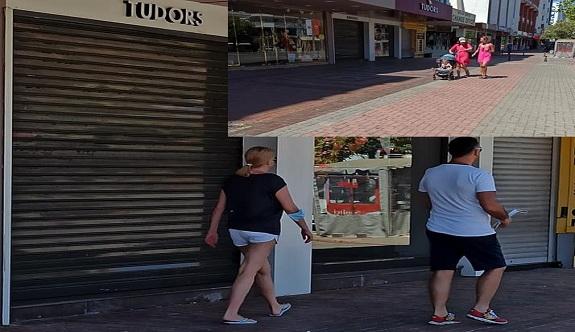 Cadde ve sokaklar turistlere kaldı