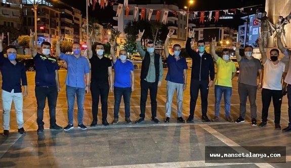 MHP Alanya'dan kan bağışı