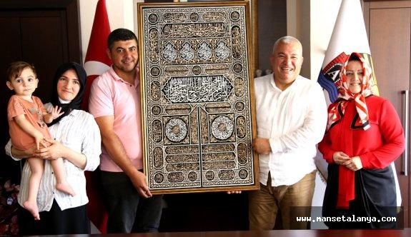 Başkan Şahin'in onur konuğu Ahmet oldu!
