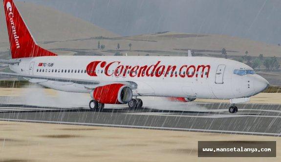Corendon Airlines uçuş programını genişletti. Alanya-Gazipaşa da var!
