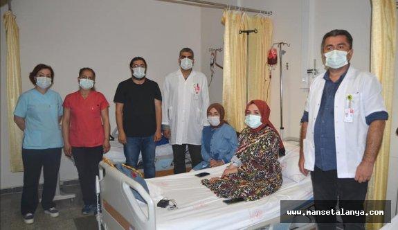 Alanya ALKÜ personeli özverili çalışıyor! Günde 280 hastaya bakılıyor!