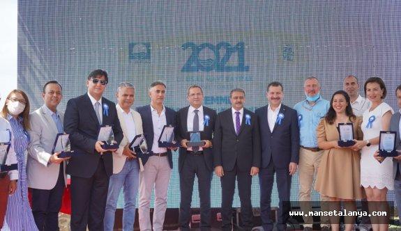 Alanya belediyesi'ne TÜRÇEV'den ödül