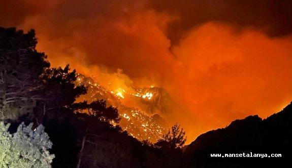 Alanya halkına yangın uyarısı!