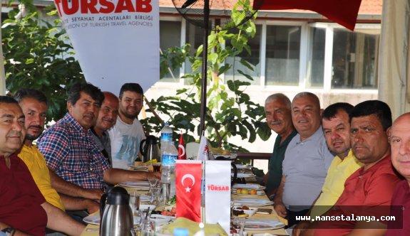 ALTSO Başkanı Şahin, TÜRSAB yönetimiyle buluştu