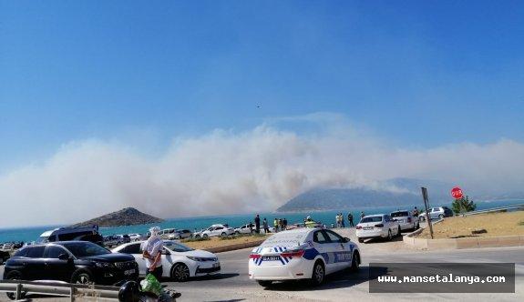 Flaş gelişme: Mersin-Antalya karayolu çift yönlü ulaşıma kapatıldı