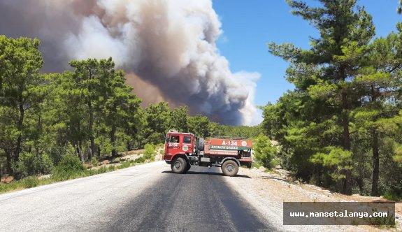 İşte yangın sonrası Manavgat bölgesi