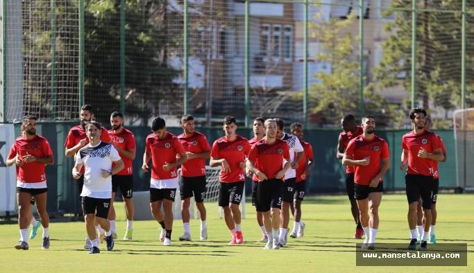 Alanyaspor'da Trabzon hazırlığı başladı