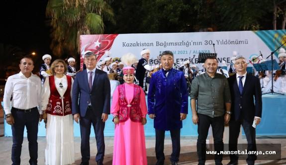 Kazakistan Alanya konsolosu Ahmet Cebeci'den  büyük katkı!