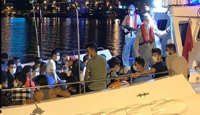 Alanya'da 14 kaçak Suriyeli yakalandı