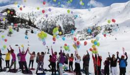 Alanya Akdağ kayak festivali muhteşemdi...