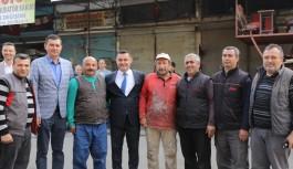 Başkan Yücel e Alanya sanayisinden büyük destek...