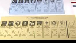 İşte yerel seçimde kullanılacak oy pusulası