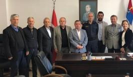 CHP Alanya teşkilatından, Jandarmaya ziyaret