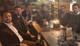Toklu'ya sürpriz doğum günü
