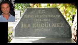 Rahmetli Küçülmez'in mezarı açıldı