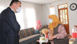Şehit Ahmet Gündoğmuş ailesine devlet baba ziyareti!