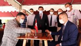 Alanya'da santranç turnuvası başladı