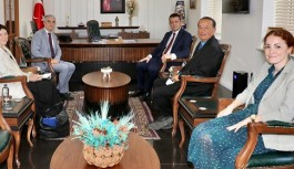 Danimarka büyükelçisi Alanya'da