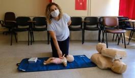 Alanya'da ilk yardım eğitimi veriliyor
