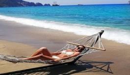 Alanya'da termometreler 42'i gösterdi, sahiller doldu taştı
