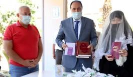 Alanya Müftüsü evlendi