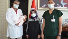 ALKÜ'de aşılama yoluyla bebek sahibi olanlardan ziyaret