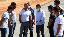 Başkan Yücel'den doğu bölgesine 110 km asfalt sözü
